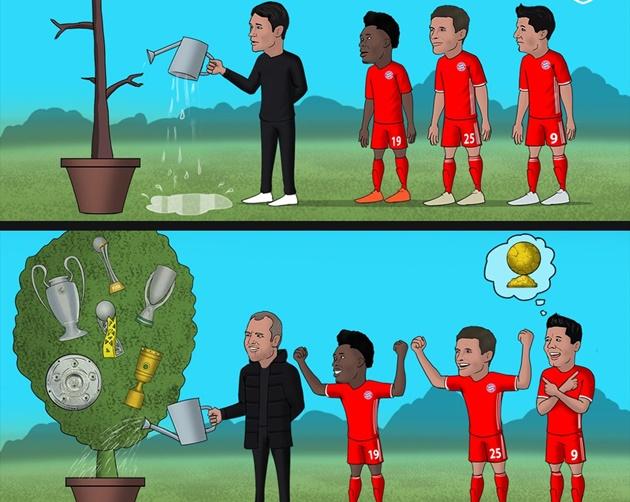 Cười té khói với loạt ảnh chế Bayern vô địch FIFA Club World Cup - Bóng Đá