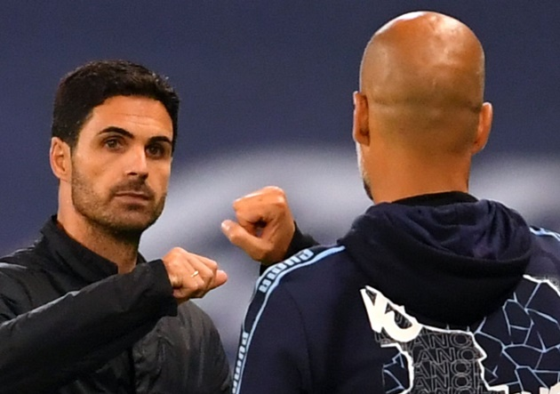 ARTETA SAYS HE'S BEEN 'IN CONTACT A LOT' WITH GUARDIOLA DURING HIS DIFFICULT MOMENTS AT ARSENAL - Bóng Đá