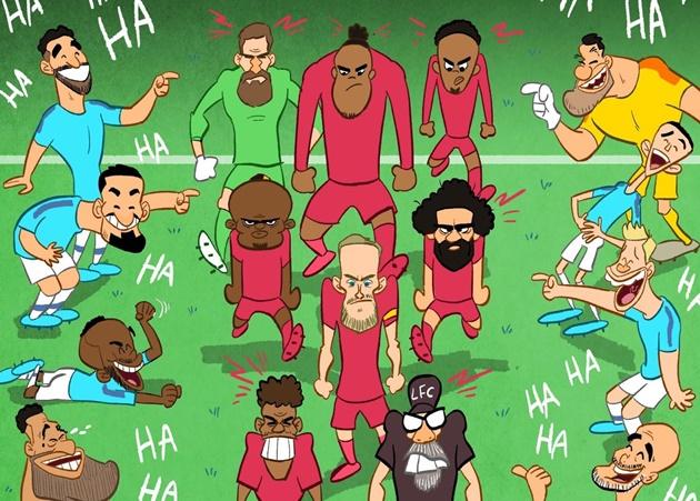 Cười té khói với loạt ảnh chế vòng 25 Premier League - Bóng Đá
