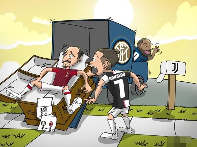 Cười té khói với loạt ảnh chế Inter chiến thắng AC Milan - Bóng Đá