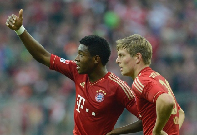 Kroos convinced Alaba has quality to star at Real Madrid - Bóng Đá