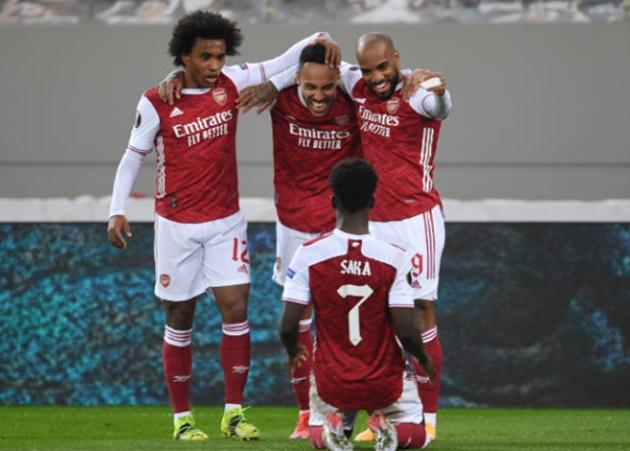 5 điểm nhấn Arsenal 3-2 Benfica: 2 cặp đôi bay bổng; Tội đồ được cứu rỗi - Bóng Đá