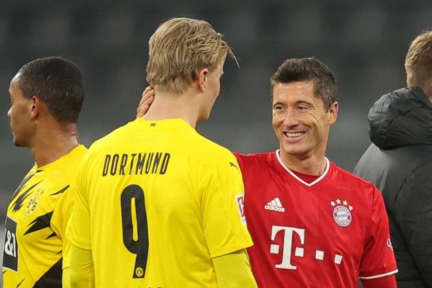 Haaland admires Lewandowski - Bóng Đá