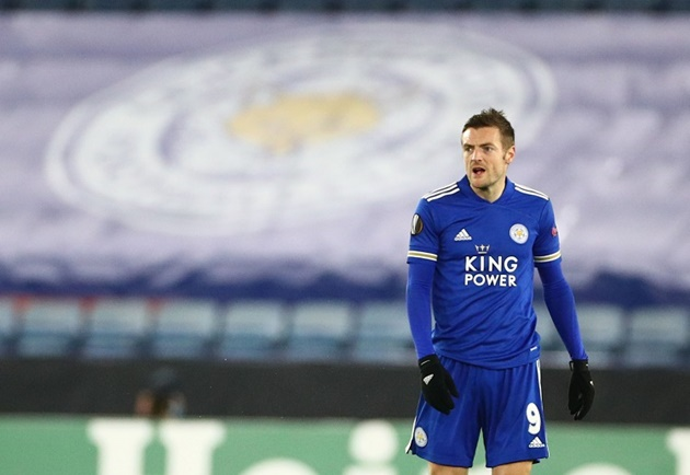 Jamie Vardy reacts to Arsenal defeat as Leicester City star sends injury message - Bóng Đá