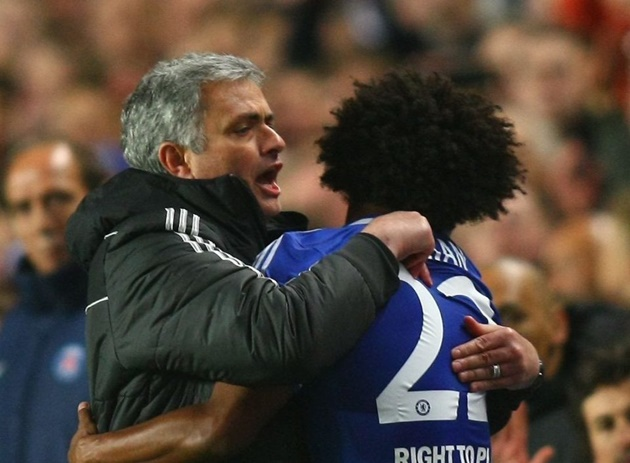 'I learned a lot' – Willian admits Mourinho is the best coach he worked with - Bóng Đá
