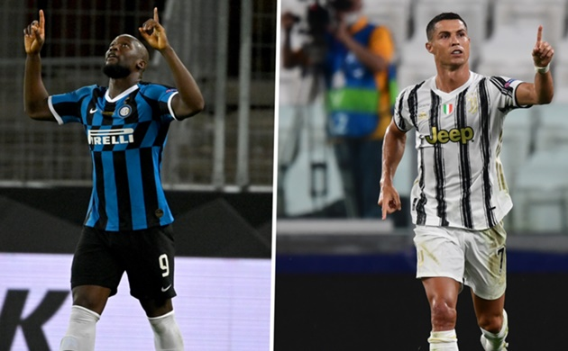 Lukaku talks down Golden Boot battle with Ronaldo after taking Serie A goal tally at Inter to 18 - Bóng Đá