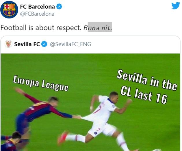 Puyol - Barca khiến Sevilla muối mặt vì