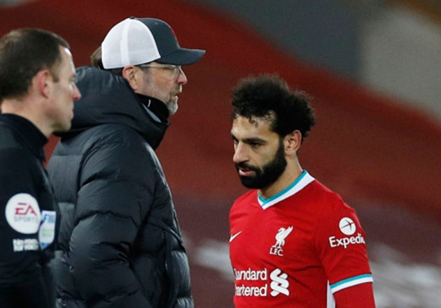 Klopp explains Mohamed Salah's early substitution during Liverpool's defeat to Chelsea - Bóng Đá