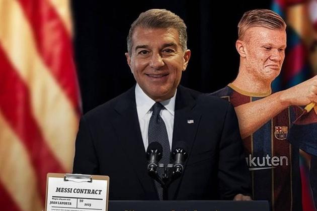 Cười té khói với loạt ảnh chế Laporta làm chủ tịch Barca - Bóng Đá