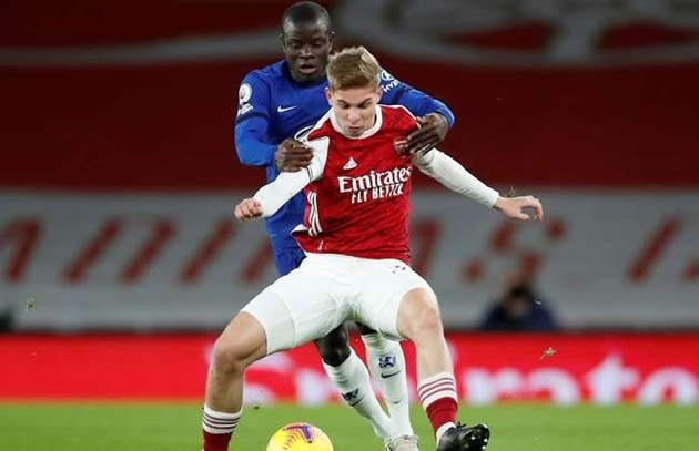 Arsenal star Emile Smith Rowe reveals the reason he was rejected by Chelsea    - Bóng Đá