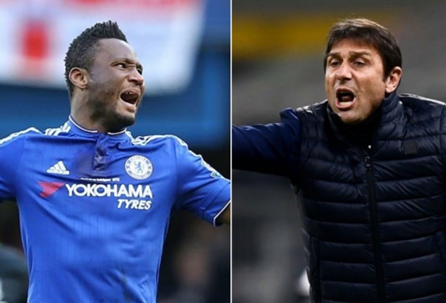 John Obi Mikel reveals details of bust-up with 'disrespectful' Antonio Conte that forced him out of Chelsea    - Bóng Đá