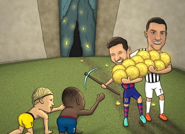 Cười té khói với loạt ảnh chế Messi phá kỷ lục Xavi - Bóng Đá