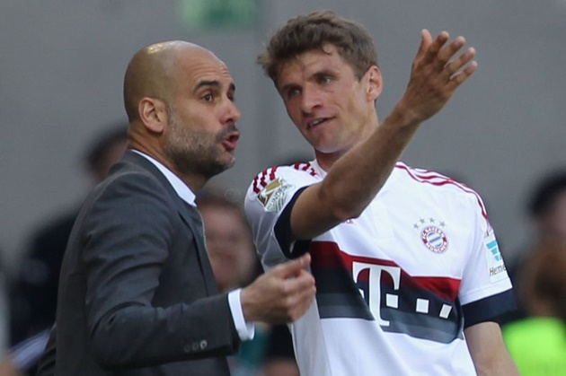 Bayern Munich star Thomas Muller gives verdict on Man City's Champions League chances under Pep Guardiola - Bóng Đá