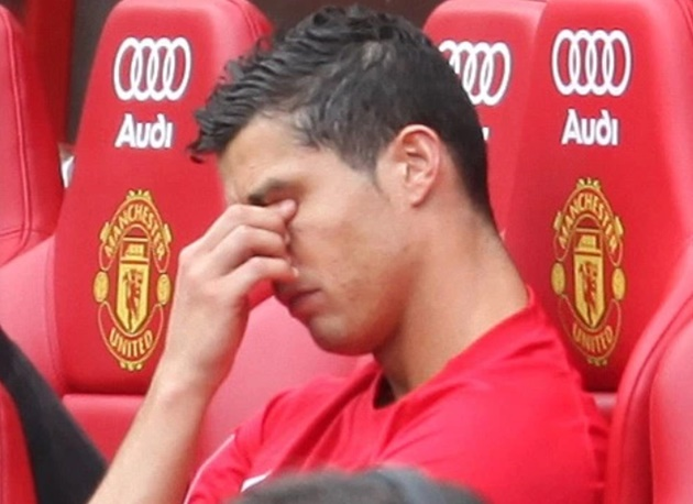 Seven times Cristiano Ronaldo completely lost it like fury at Nani pinching goal and Portugal captain's armband strop - Bóng Đá