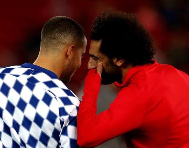 Mohamed Salah breaks silence on Eden Hazard's Real Madrid nightmare amid hint of Chelsea reunion - Bóng Đá