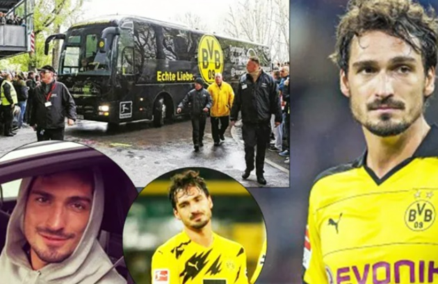 Borussia Dortmund 'forgot' Mats Hummels in another city, no player in team bus noticed he was missing - Bóng Đá