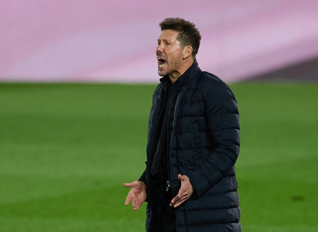 Atletico Madrid boss Diego Simeone remains confident his side are still in a strong position in the La Liga title race - Bóng Đá