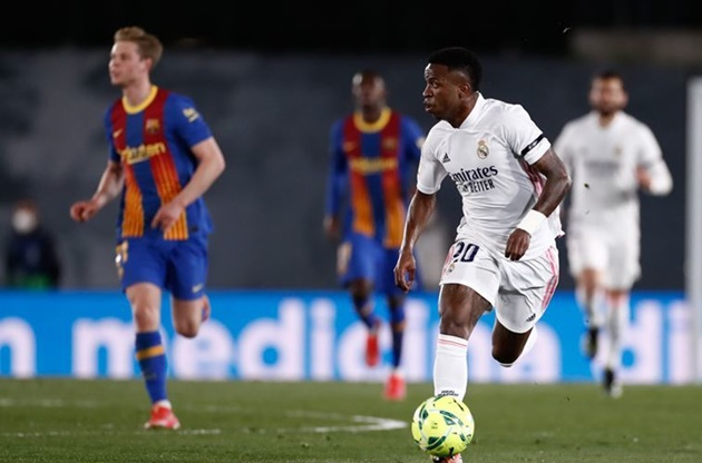 Barcelona 'stabbed in the back' in deal that took Vinicius to Real Madrid, claims Blaugrana's scout in South America - Bóng Đá