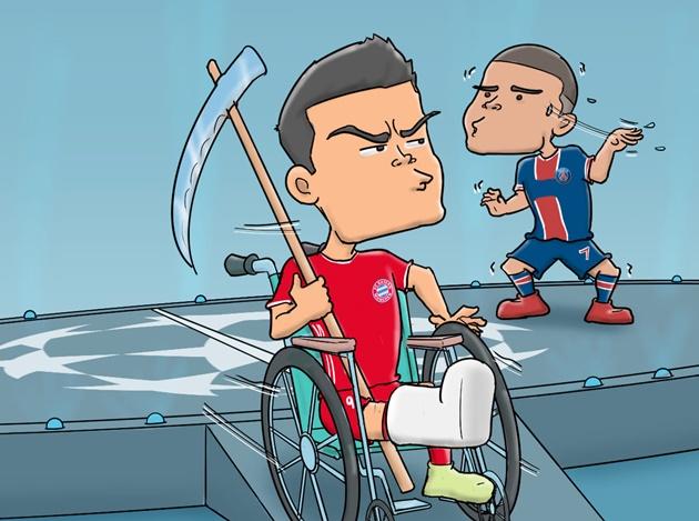 Cười té khói với loạt ảnh chế PSG loại Bayern - Bóng Đá