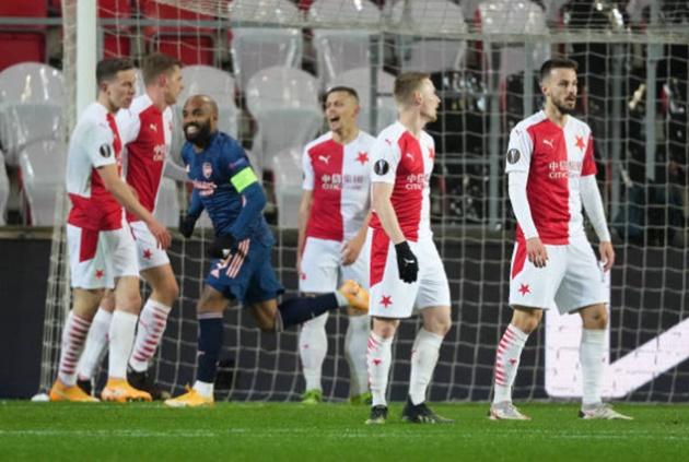 TRỰC TIẾP Slavia Prague 0-3 Arsenal (H1): Pháo nổ liên hồi - Bóng Đá