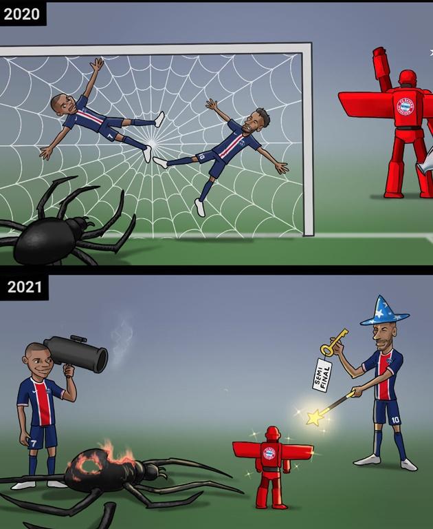 Cười té khói với loạt ảnh chế tứ kết Champions League  - Bóng Đá
