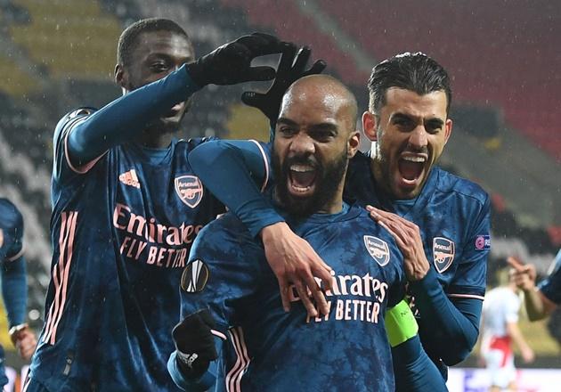 TRỰC TIẾP Slavia Prague 0-4 Arsenal (H2): Cú đúp của Lacazette - Bóng Đá