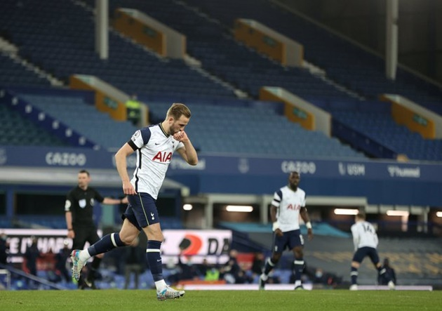 'Disappointed' – Harry Kane immediately comments after limping off injured at Everton - Bóng Đá