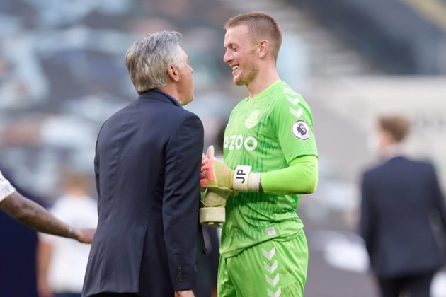 JOSE MOURINHO HEARD WHAT CARLO ANCELOTTI WAS TELLING PICKFORD LAST NIGHT - Bóng Đá