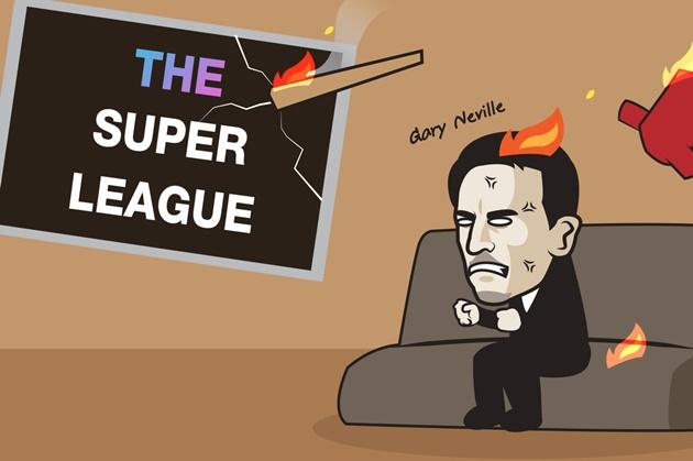 Cười té khói với loạt ảnh chế European Super League - Bóng Đá