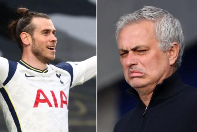 Gareth Bale appears to take swipe at axed Tottenham boss Jose Mourinho over negative approach - Bóng Đá