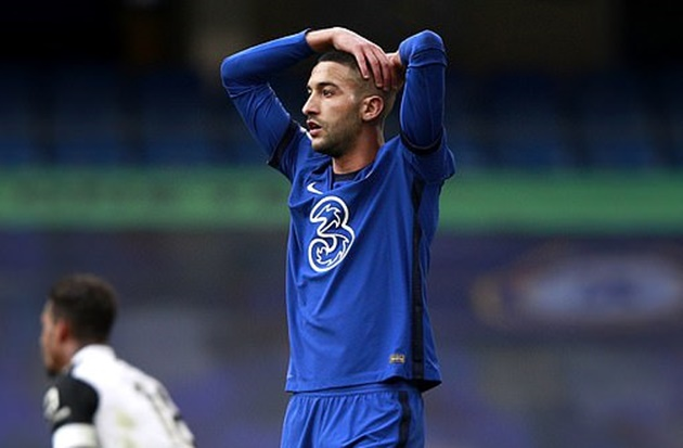 'Frustrated' Hakim Ziyech is being played OUT of position at No 10, claims Frank Leboeuf. - Bóng Đá
