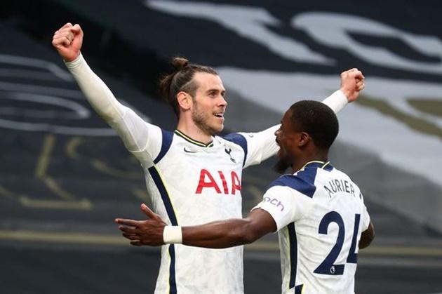 Gareth Bale names the player who really impressed him in Tottenham's big win vs Sheffield United - Aurier - Bóng Đá