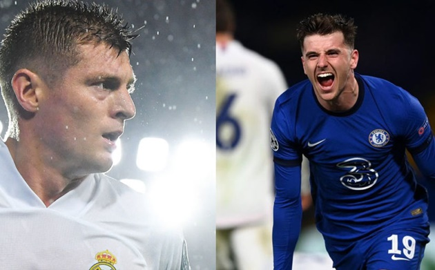 Mason Mount hits back at Toni Kroos after Chelsea beat Real Madrid to reach Champions League final - Bóng Đá