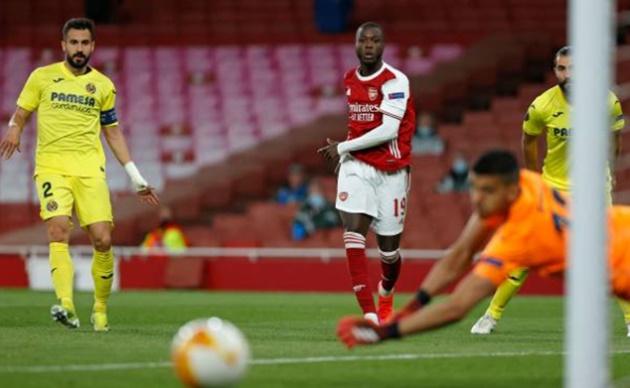 TRỰC TIẾP Arsenal 0-0 Villarreal (H2): Martinelli vào sân - Bóng Đá