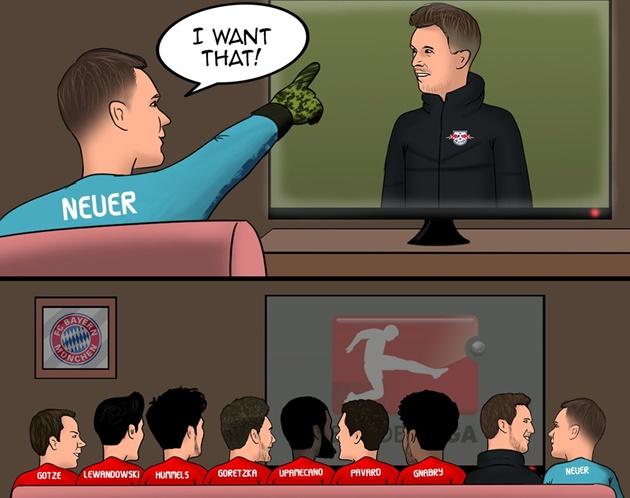 Cười té khói với loạt ảnh chế Bayern vô địch Bundesliga - Bóng Đá