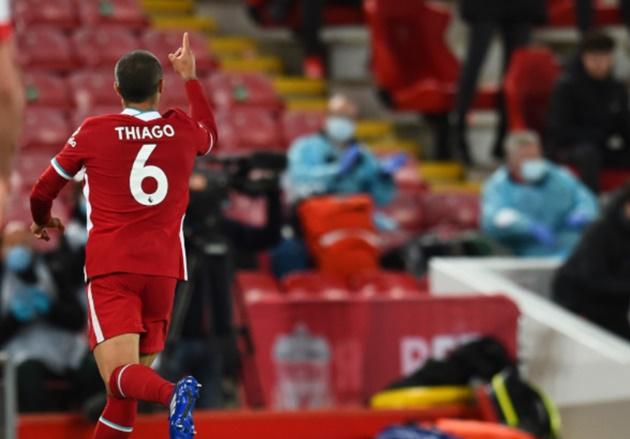Thiago Alcantara explains Southampton goal celebration - Bóng Đá