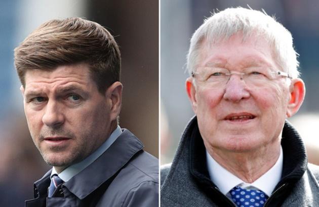 Sir Alex Ferguson hails Steven Gerrard's impact at Rangers  - Bóng Đá