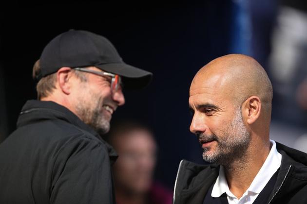 Pep Guardiola hails Jurgen Klopp 'an inspiration' after Manchester City clinch third title in four years - Bóng Đá