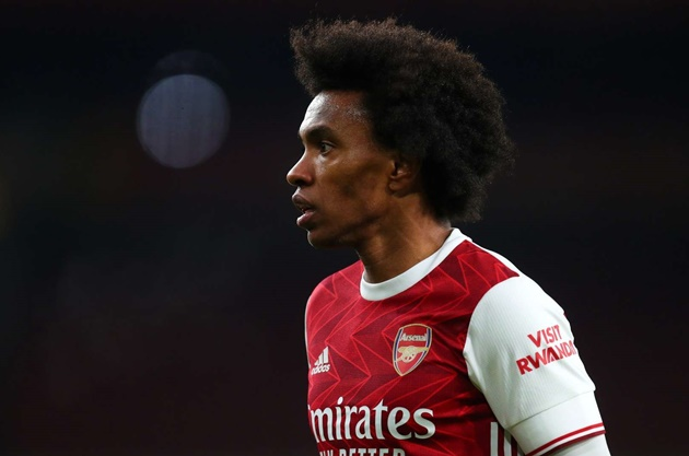 Willian on Arsenal and Chelsea training differences - Bóng Đá