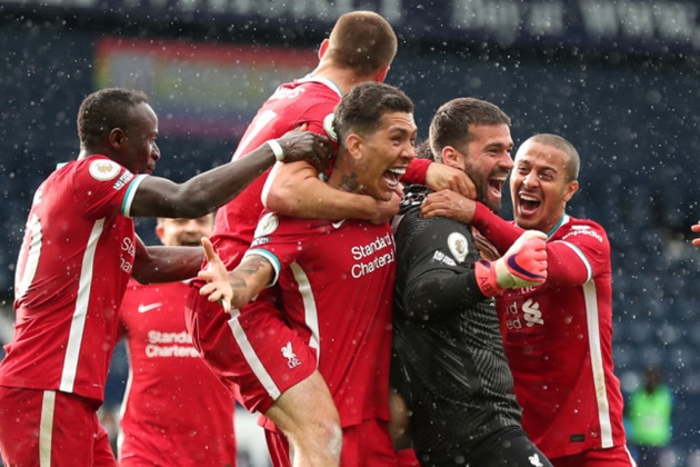 Jurgen Klopp reacts to 'outstanding' Alisson winner after huge Liverpool top-four boost - Bóng Đá