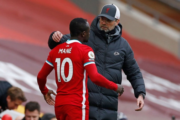 Liverpool manager Jurgen Klopp reveals Sadio Mane apology after handshake snub / - Bóng Đá