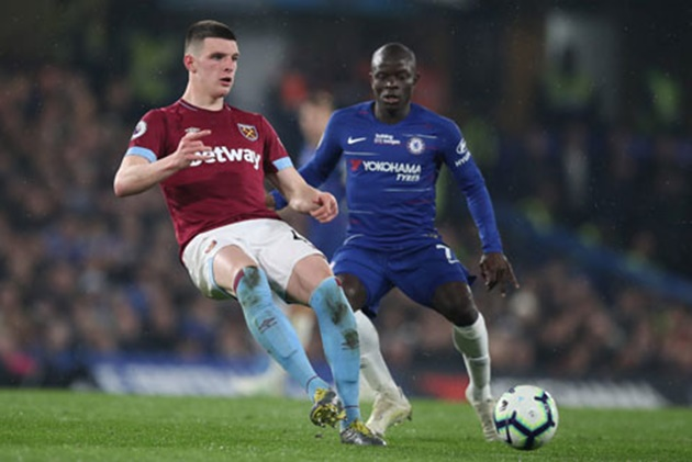 West Ham have 'no intention' of selling Chelsea transfer target Declan Rice, says David Moyes   - Bóng Đá