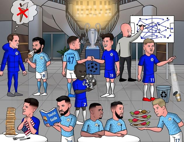 Cười té khói với loạt ảnh chế Chelsea vô địch Champions League - Bóng Đá