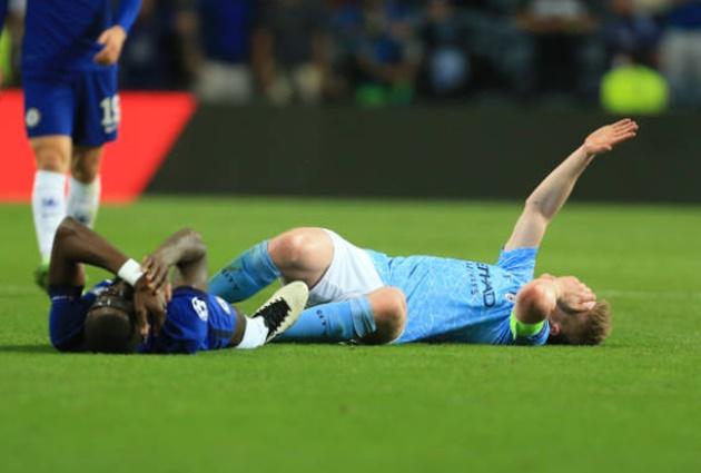 De Bruyne thông báo chấn thương kinh hoàng sau pha va chạm với Rudiger - Bóng Đá