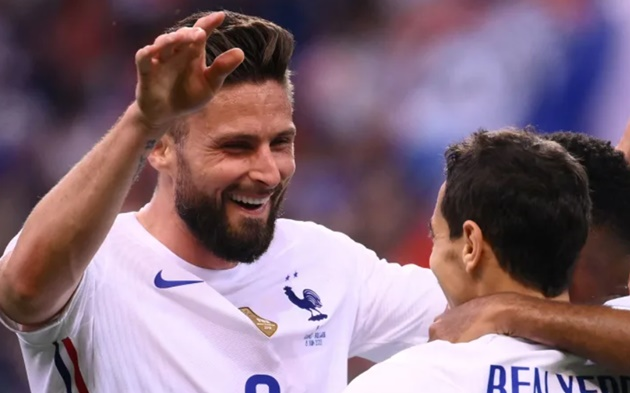 INTERNATIONALS: GIROUD DOUBLE HELPS FRANCE TO VICTORY - Bóng Đá