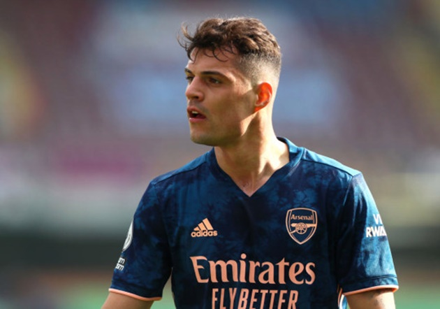 Granit Xhaka says 'you're only as good as your team' as Arsenal ace closes in on Roma transfer - Bóng Đá