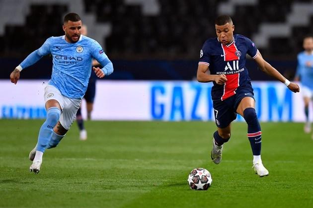 France and PSG star Kylian Mbappe names the Man City star who is 'like a tank' - Walker - Bóng Đá