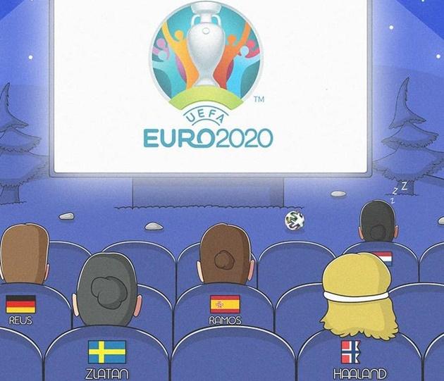 Cười té khói với loạt ảnh chế EURO khai màn - Bóng Đá