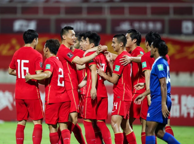 Trung quốc 5 0 Maldives - Bóng Đá