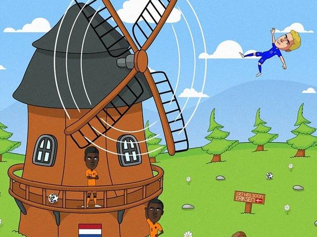 Cười té khói với loạt ảnh chế EURO - Bóng Đá